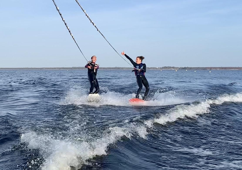 Binôme wakeboard