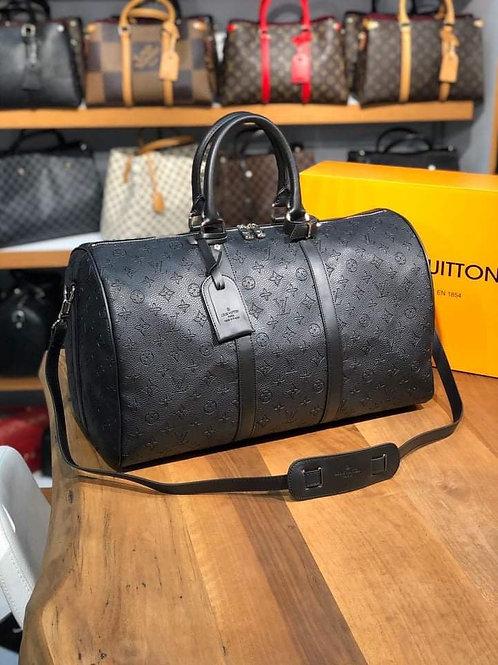 Designer Monogram Travel Shoulder Duffel Bag in 5 Colors