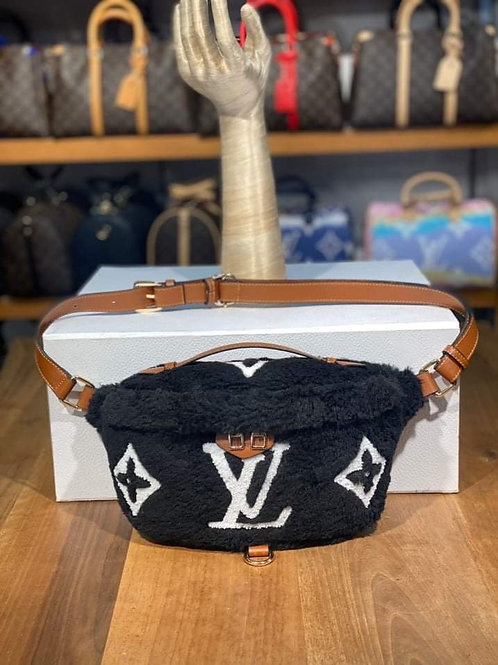 Designer Bumbag Fanny Pack with Monogram Canvas in 4 Colors