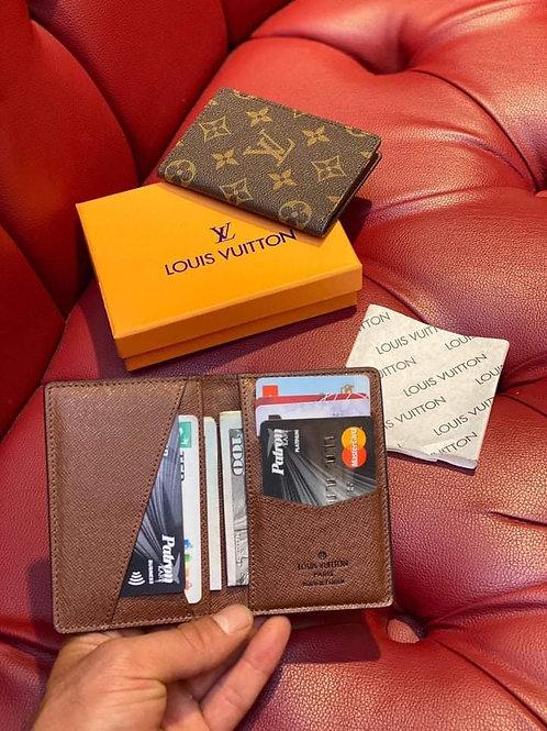 Designer Men's Leather Wallet in 6 Color Styles