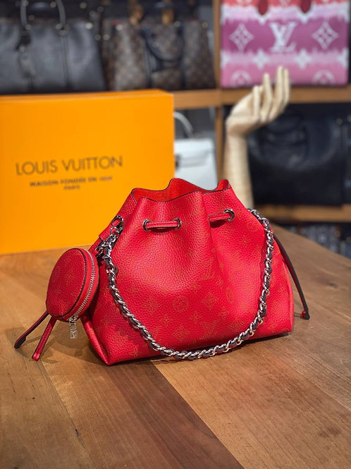 Louis Vuitton Hobo Slouch Purse with side coin pouch