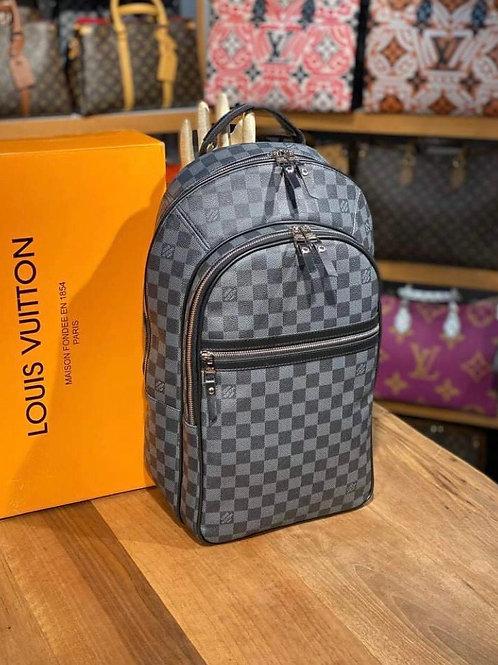 Large Designer Leather Backpack