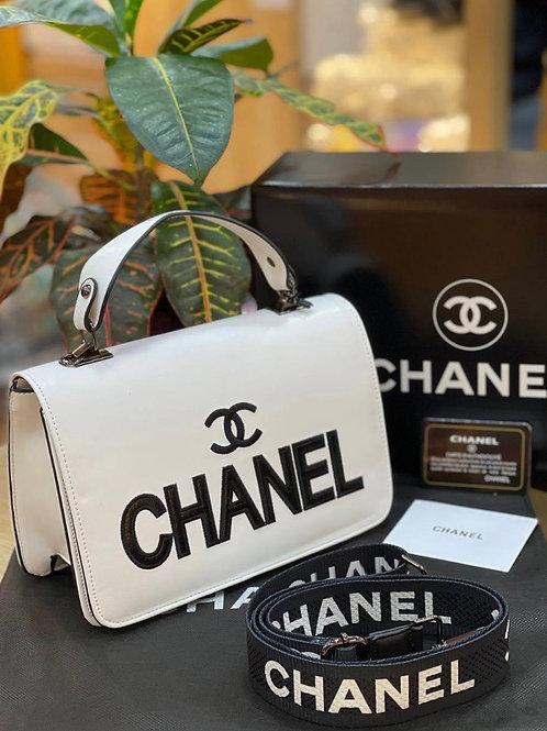 Chanel Signature Big Logo Purse in 5 Colors