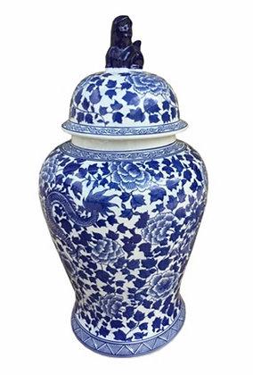 Delfts blauwe  XXL  Jar porselein