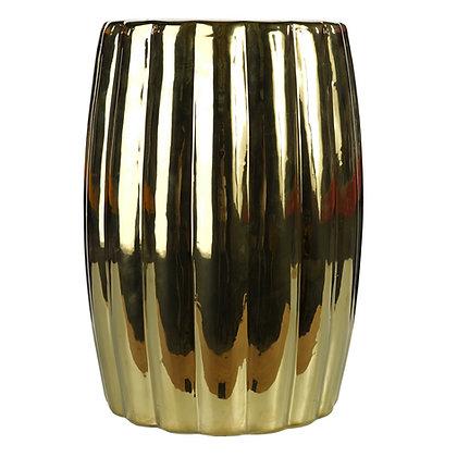 Gold Ceramic stool