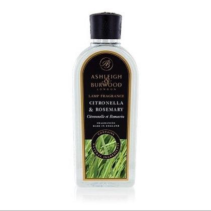 Citronella & Rosemary 500ml Lamp Oil