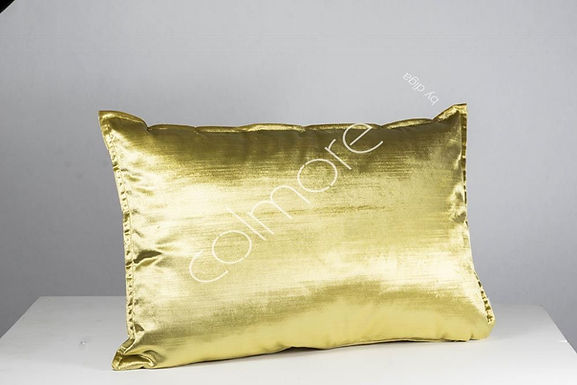 Cushion Velvet Soft Yellow