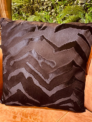Cushion Black Zebra
