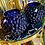 Thumbnail: Glazen druiven vaas/ windlicht