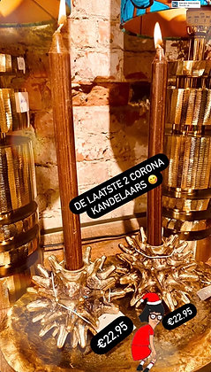 Corona kandelaar per stuk