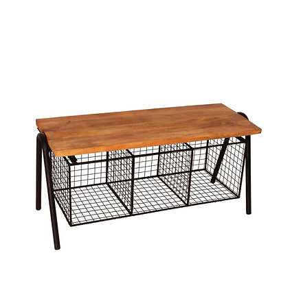 Industrial Hall Bench