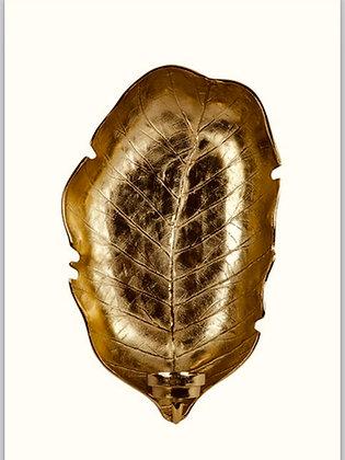 Wandkandelaar Leaf