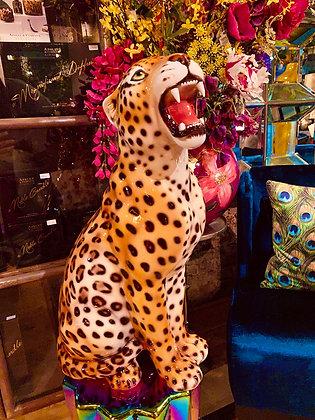 Italiaans keramieken luipaard Large
