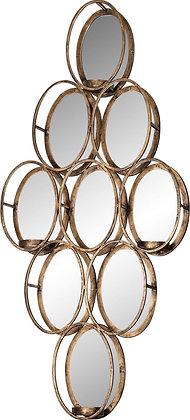 Spiegel candle holder gold