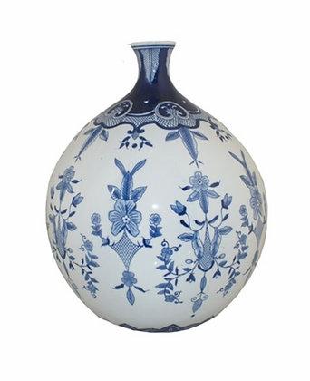 Delfts blauwe nekvaas XL porselein