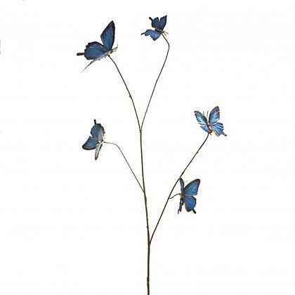 Vlindertak blauw
