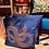 Thumbnail: Kussen snake blue