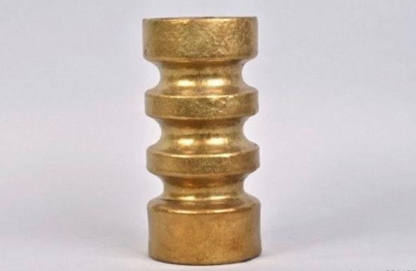 Vase Gold Wave Large