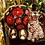 Thumbnail: Porcelain cheetah Candelabra regency style