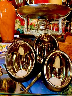 Tealight egg ceramic L