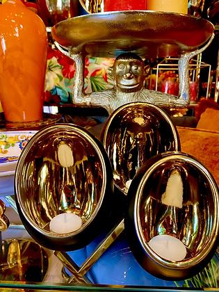 Tealight egg ceramic XL