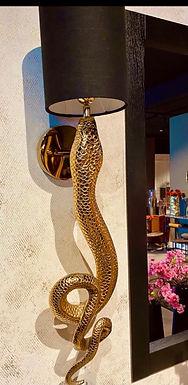 Snake lamp inclusief Kap