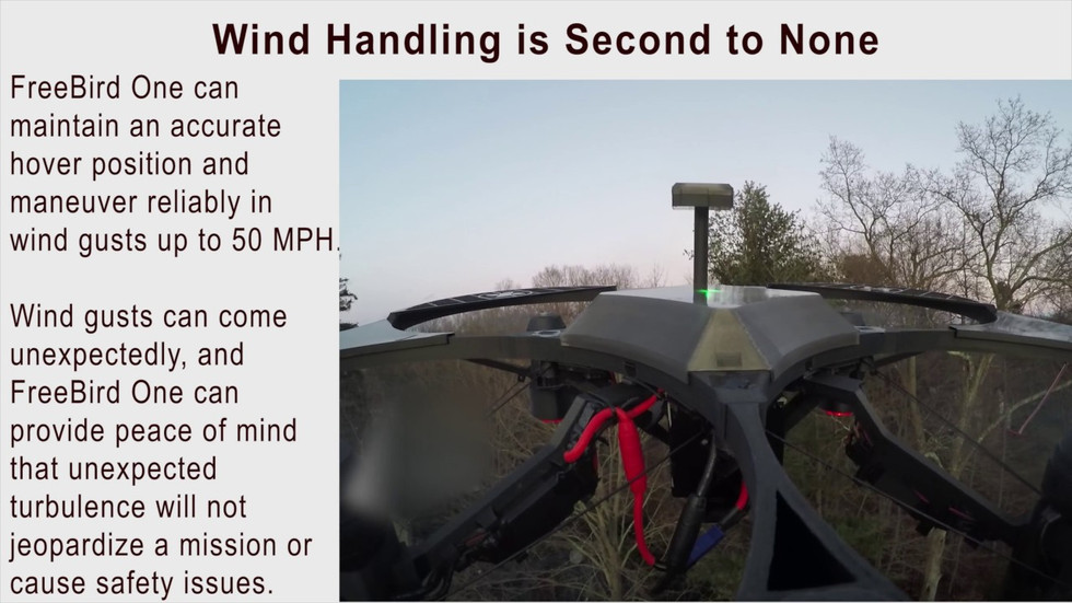 Wind Handling is Second to None