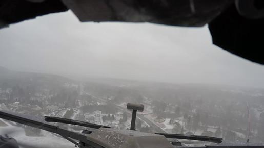 1 Mile Autonomous Flight During Snowstorm
