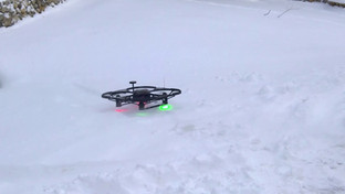 FreeBird One Scrapes Snow From Ground with Front/Rear Attachments