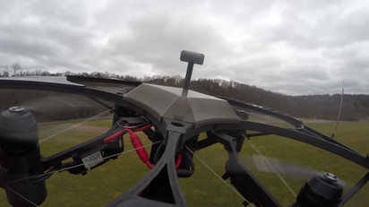 Low Altitude Position Hold in 40MPH Winds