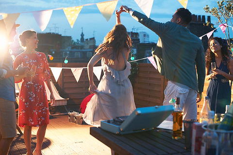 Party Action Pictures from Taylor Rental of Malvern