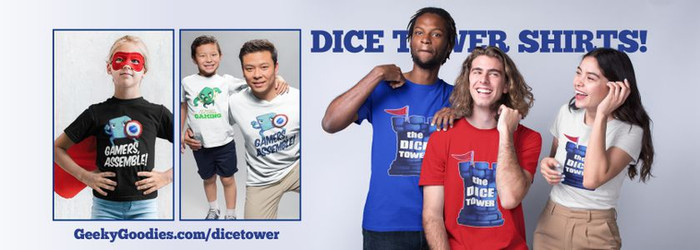 Dice Tower Shirts