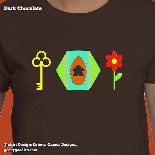 Keyflower-Inspired Women's T-shirt
