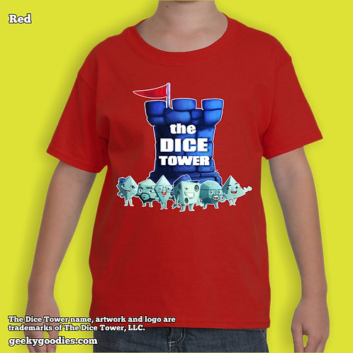 Dice Tower Gang (with Logo) Children's T-shirt