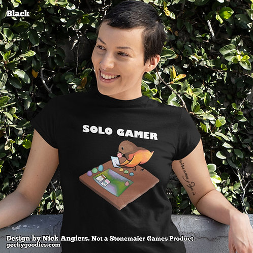 Solo Gamer Ladies T-shirts