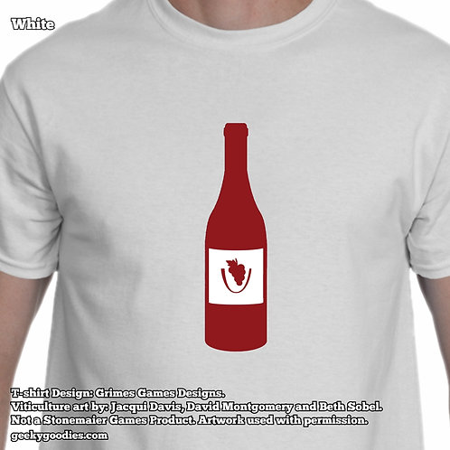 Viticulture Mens/Unisex White Tshirts