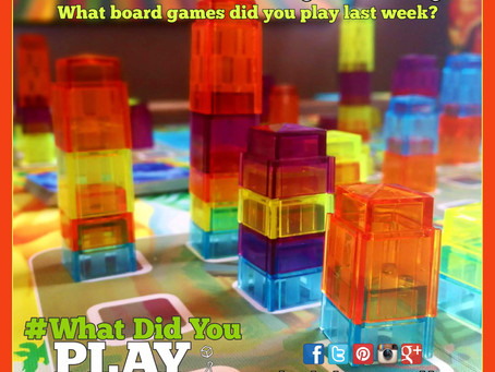 What Did You Play Mondays? February 18, 2019