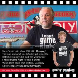 Steve Tassie | Geeky Goodies Shirt
