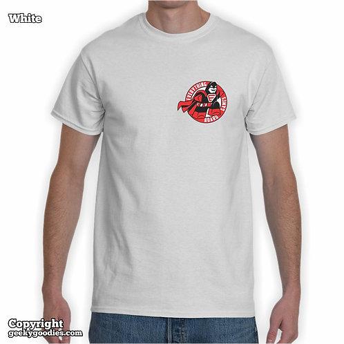 Everything Board Games (Pocket-Size Logo) White T-shirt