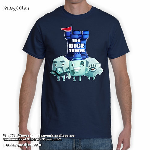 TALL Size The Dice Tower Dice Guys Unisex T-shirt
