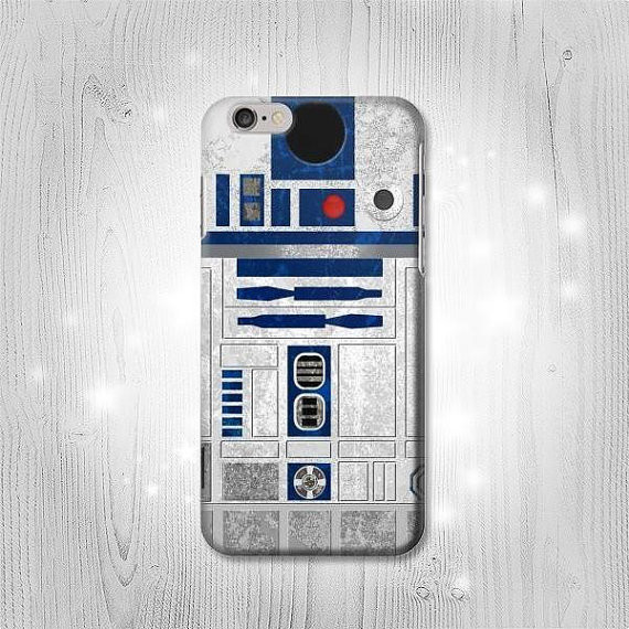 Vintage R2-D2 Minimalist Phone Case | Geeky Goodies