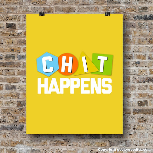 Chit Happens Poster
