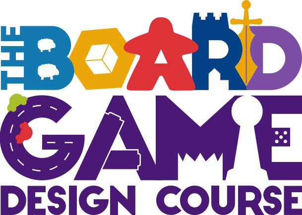 The Board Game Design Course | Geeky Goodies Logo Design