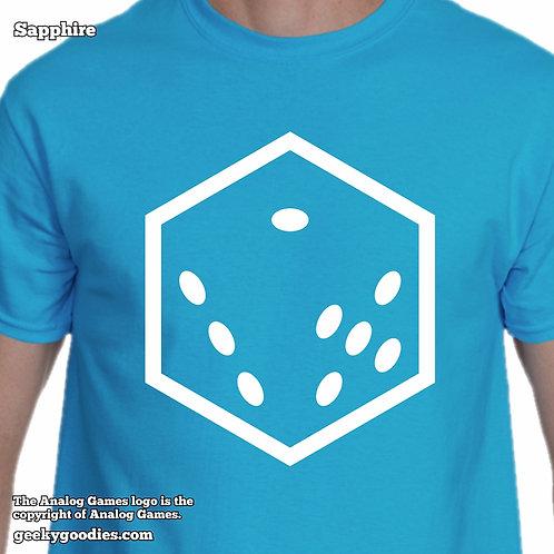 Analog Games Mens/Unisex T-shirt (Dark Colors)
