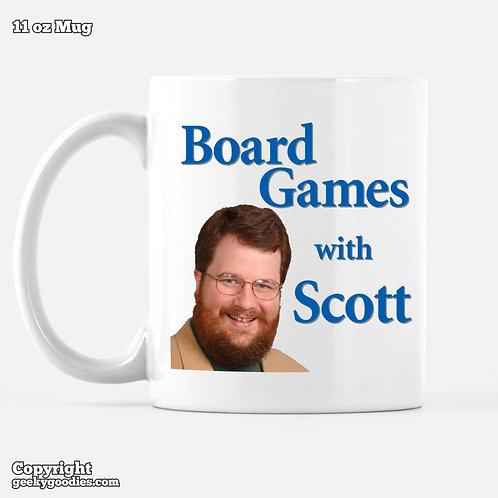 Board Games With Scott Mug