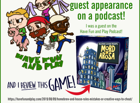 I Was a Guest on a Gaming Podcast!