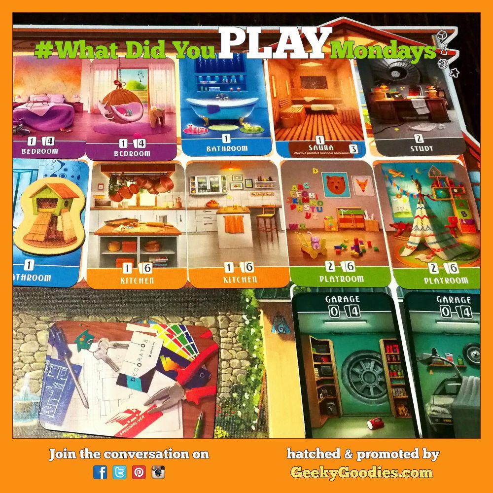 #WhatDidYouPlayMondays - Game in photo is Dream Home