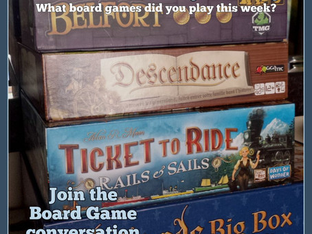 What Did You Play Mondays? November 14, 2016