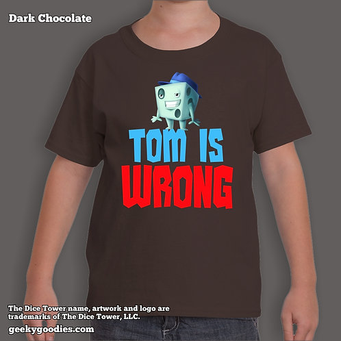 Tom is Wrong Dice Tower Children's T-shirt