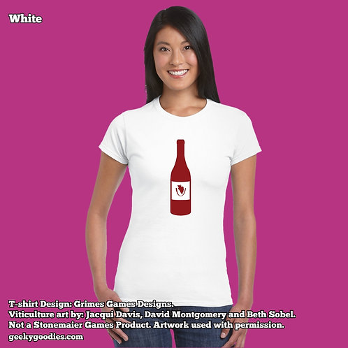 Viticulture Women's FITTED White Tee